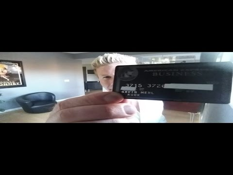 How I Got the American Express Black Card