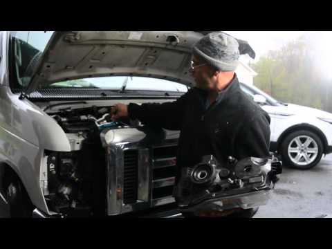 How to Change the Headlight on A 2010 Ford Van (E-250)