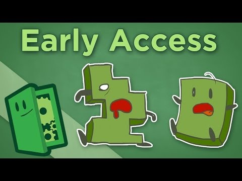 Early Access - The Problem with Unfinished Games - Extra Credits