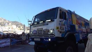 Truck Monaco Dakar Africa eco race 2017 rallye raid and bike