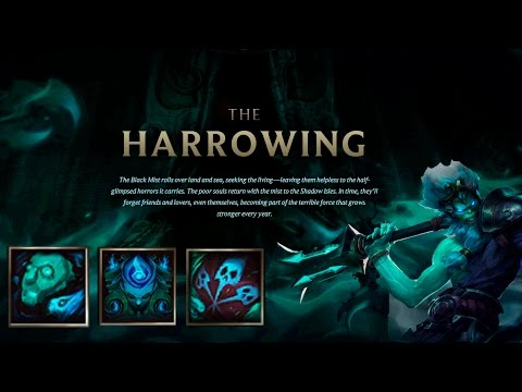 League Of Legends Harrowing Icons 2014