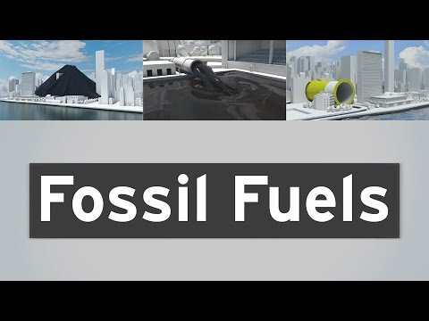 Fossil fuels - the rate we use them