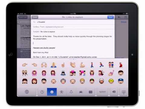 Coming Soon: How to use the Emoji Keyboard using iOS5