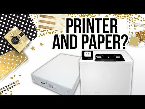 What Printer and Paper I use for Chip Bags, etc.