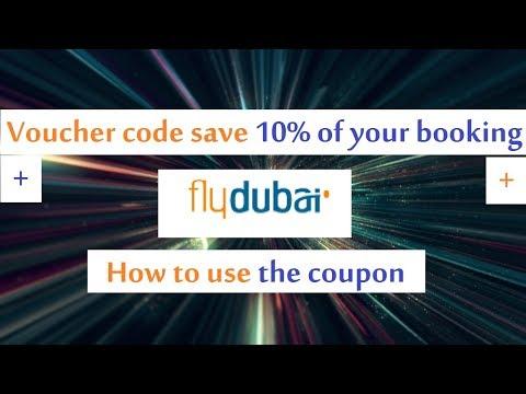 Flydubai voucher code Save 10% of booking