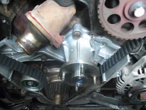 How to change the timing belt on your car or truck pt2