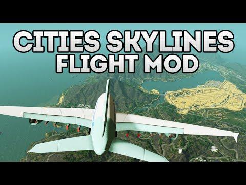 Cities Skylines: Flight Mod?! [Workshop Showcase]