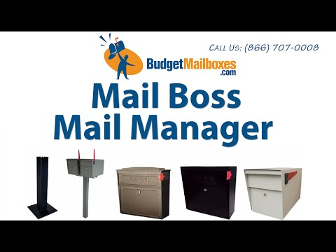 BudgetMailboxes.com | Mail Boss Mail Manager Locking Mailbox