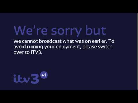 ITV3+1 Legal Message Slide 2017 Mock - 1080p HD
