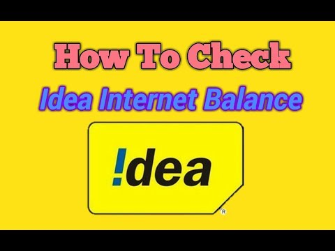 IDEA Net Balance Check Number | USSD Code For Checking Internet Pack | PRODUCERS ANMOL