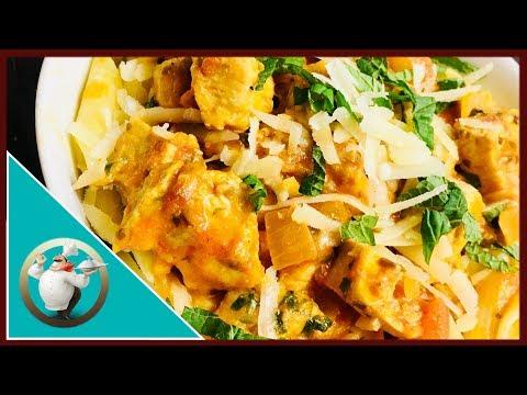 Easy Chicken Mozzarella Pasta | Chicken Parmesan Pasta In 15 Min|Chicken Mozzarella & Parmesan Pasta
