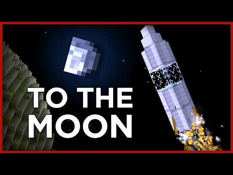 New dimension: GO TO THE MOON in Minecraft! (no mods!)