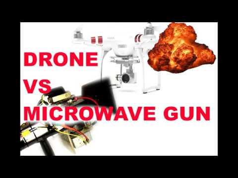 СВЧ пушка против дрона (HERF)