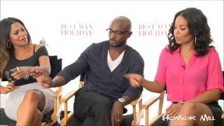 Nia Long, Taye Diggs, Sanaa Lathan Discuss Edited Dance Scene In 'Best Man Holiday'