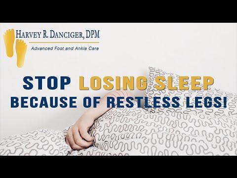 Stop Losing Sleep Because of Restless Legs!