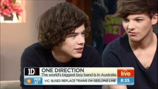 One Direction full interview Sydney, Australia April 2012