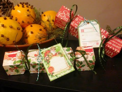 DIY Christmas Cracker or Gift Box