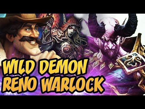 Hearthstone: Wild Demon Reno Warlock