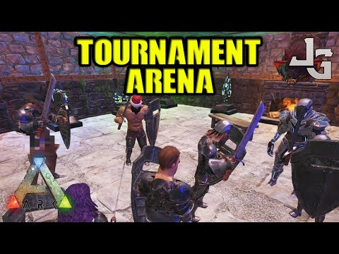 ARK - PVP Tournament - Arena Sword Fight - Big Grand Prize