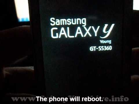 Installing Chainfire 3D on Samsung Galaxy Y