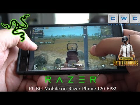 PUBG Mobile on Razer Phone 120 FPS Best Gaming Phone!