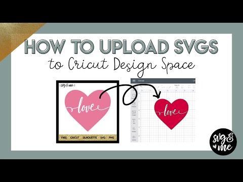 How to Upload SVG Files to Cricut Design Space