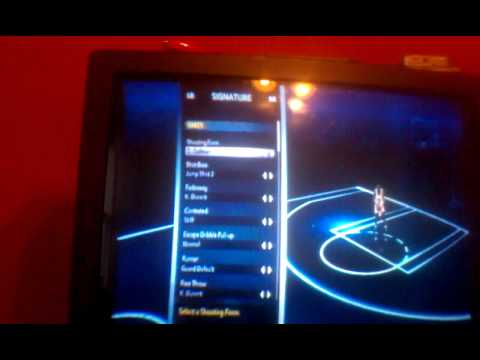 NBA 2k12 create a legend cheats