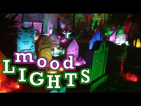 How To Light Up Your Halloween Display & Holiday Decorations