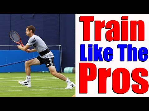 How Pro Tennis Players Train - Improve Your Tennis Fast
