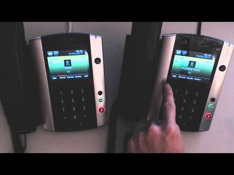 Polycom VVX500 - How to Transfer Calls - Attended and Unattended Transfer