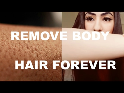 HOW TO REMOVE BODY AND FACIAL HAIR FOREVER IN ONE MONTH! Evin Yalcin