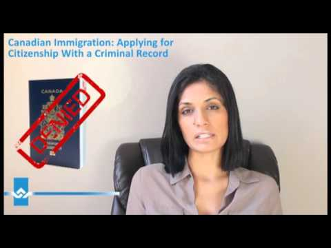 Applying for Canadian Citizenship with Criminal Record