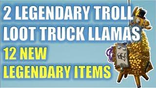 2 New Troll Loot Truck Llamas Getplaypk The Fastest Free