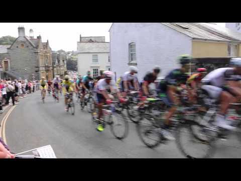 Tour of Britain - Tavistock 11th Sepetember 2014