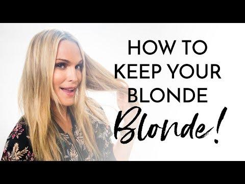 How I Keep My Blonde So Blonde!