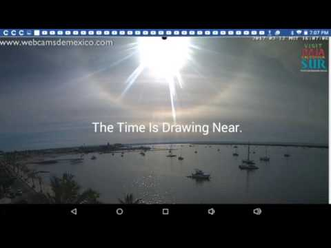 Planet X Nemesis System: Sun Halo Or Something Else? March 12, 2017