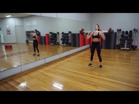 HIIT WORKOUT - VLOG (LEG/ARMS/ABS/CARDIO BASED): World Gym