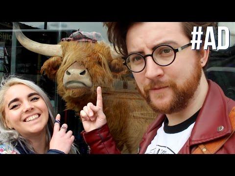 Haggis Burritos and Old Haunts! (Scottish Road Trip Pt 1) | #ad