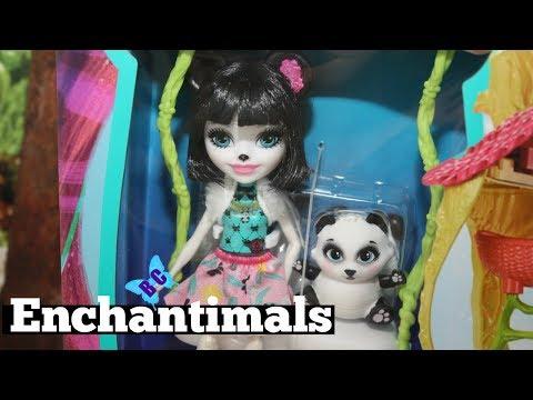 Enchantimals Panda Playhouse | Toy Review | Buterflycandy
