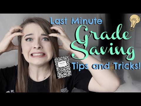 So You've Done NO Revision? This Video Could SAVE YOUR GRADES! | Last Minute Revision Tips 2018!