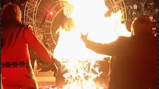 Kane burns The Undertaker: Royal Rumble 1998