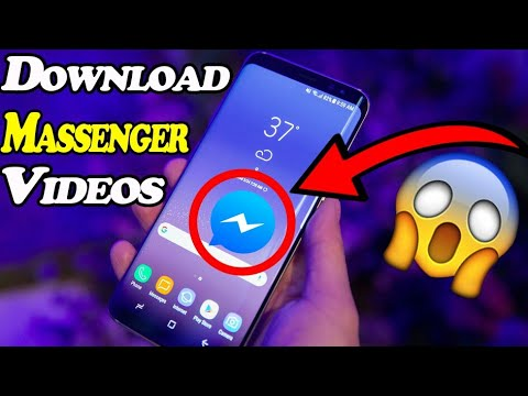 How To DOWNLOAD FACEBOOK Messenger VIDEOS in Your Phone Gallery 2017 new