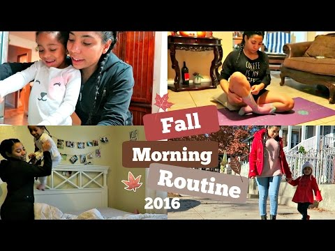 College Mommy Morning Routine - Day Off 2016