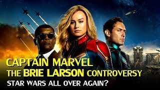 Download Captain Marvel: The Brie Larson Controversies affecting the Boxoffice? Video