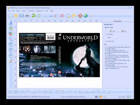 How to create Blu-Ray CD DVD Cover