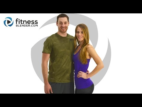Fitness Blender's 5 Day Challenge - Strong and Lean - Day 1
