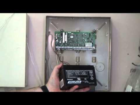 Honeywell Panel Battery Change