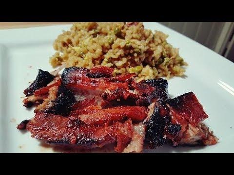Chinese Boneless Ribs and Pork Fried Rice