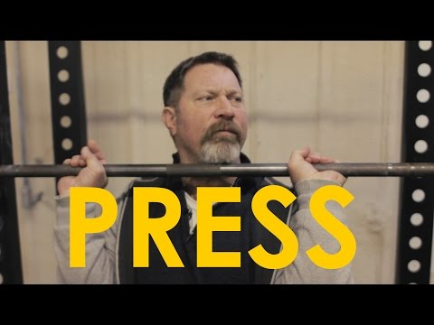 How to Overhead Press With Mark Rippetoe | The Art of Manliness