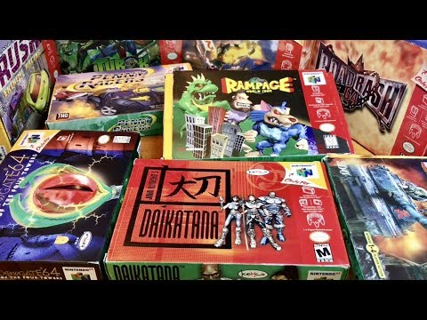 COMPLETE N64 COLLECTION! HOLY GRAIL MOST VALUABLE BAD GAME!! #14